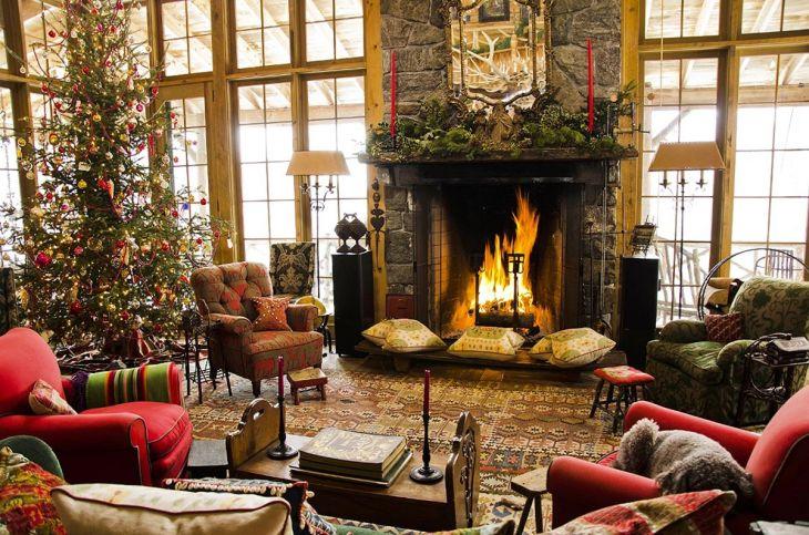 Living Room Christmas Decor 104