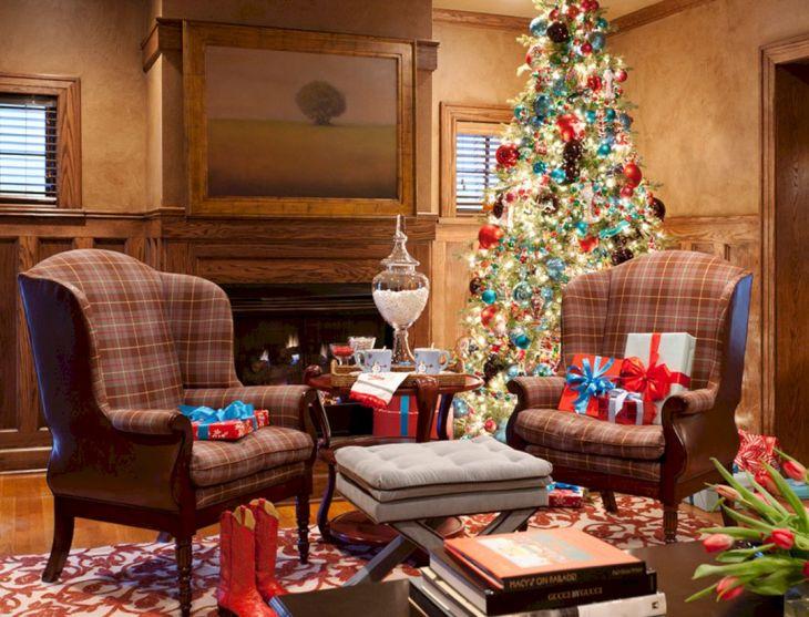 Living Room Christmas Decor 105