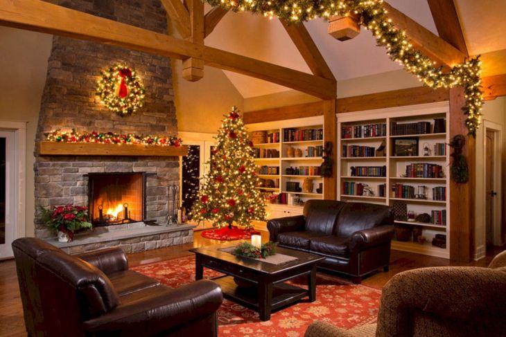 Living Room Christmas Decor 109