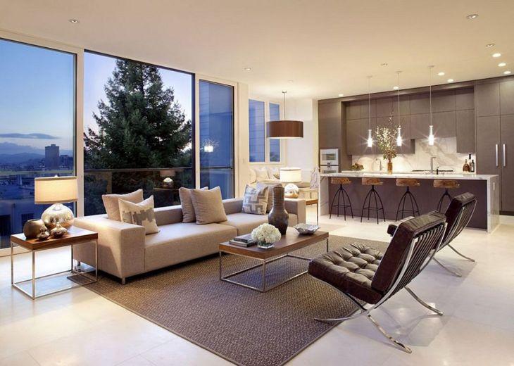 Living Room Open Space Design 201