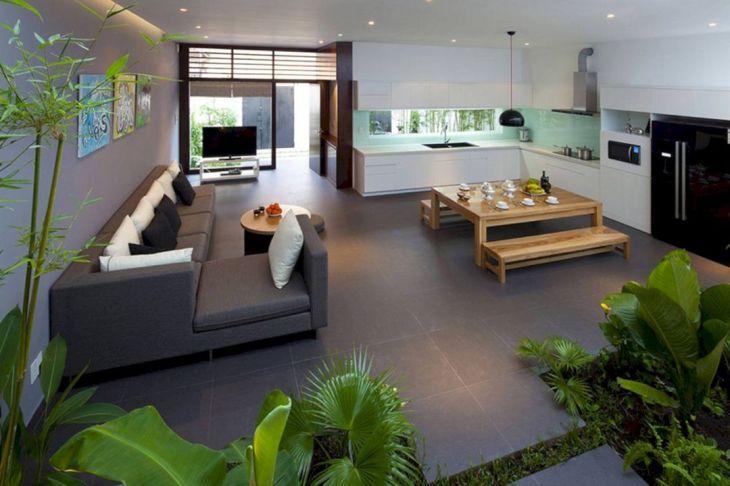 Living Room Open Space Design 401