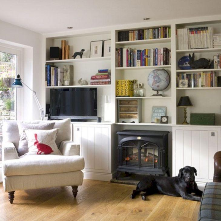 Living Room Storage Ideas 40