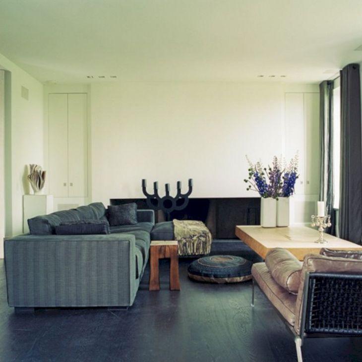 Living Room With Dark Wood Floors 10