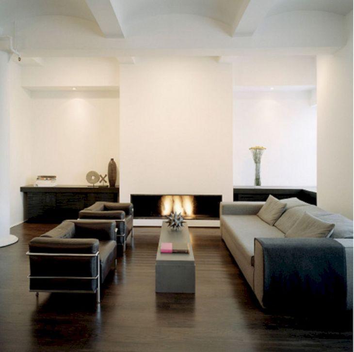 Living Room With Dark Wood Floors 110