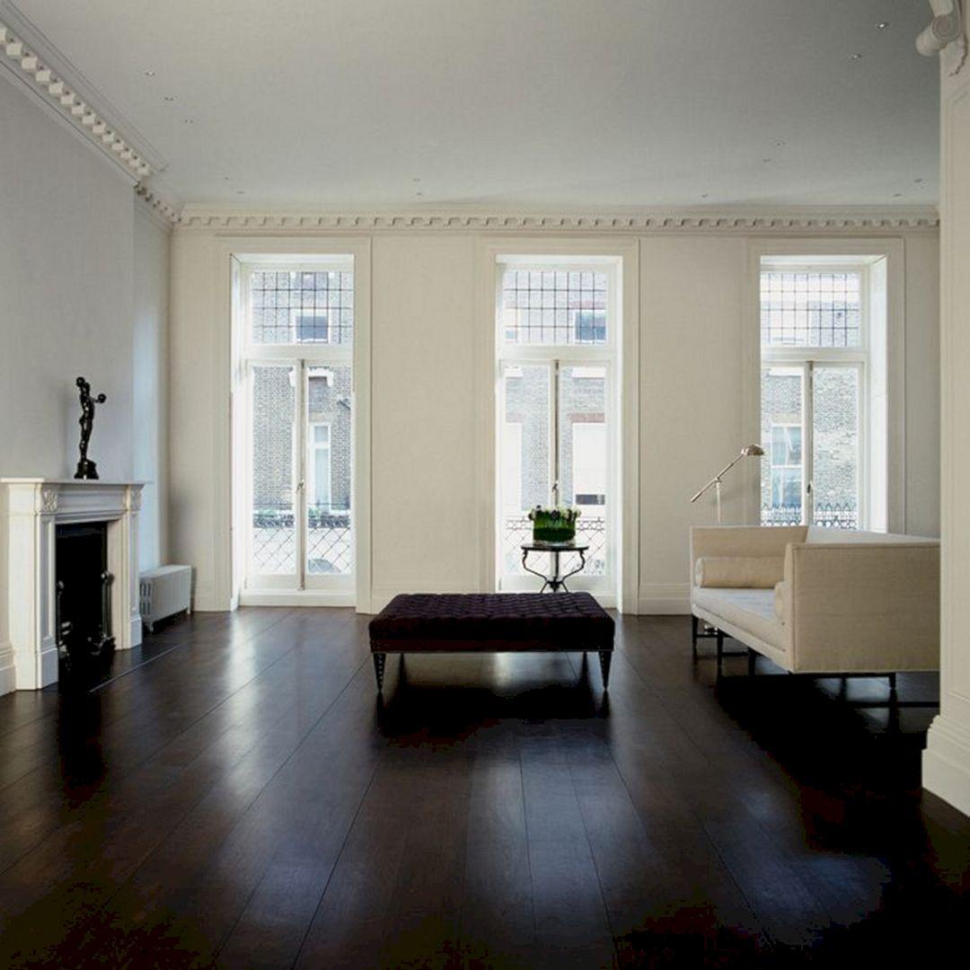 Living Room With Dark Wood Floors 260