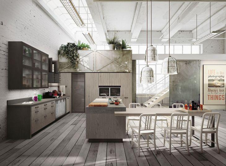 Modern Industrial Design in The Kitchen