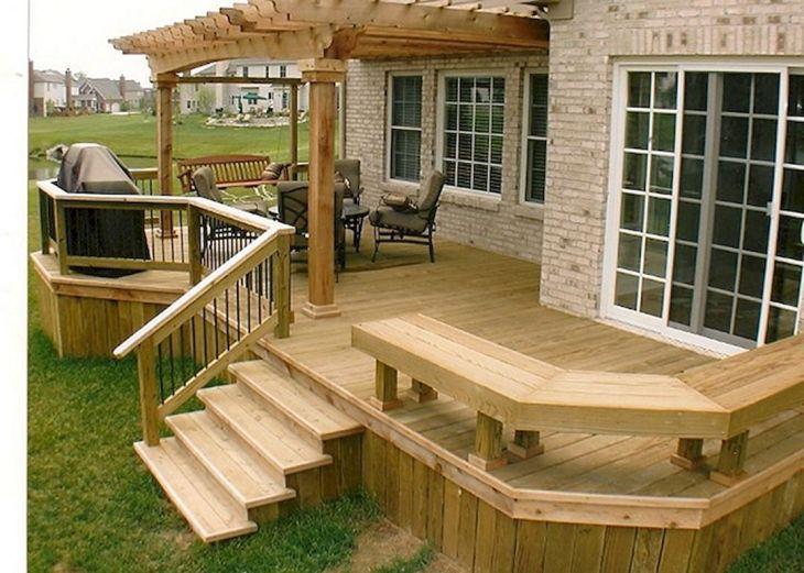 Outdoor Deck Design Ideas 27