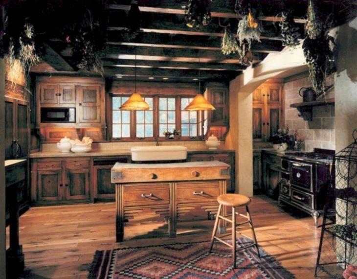 Rustic Kitchen Style Interior