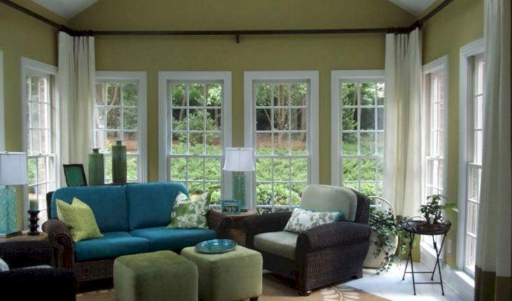 Simple Sunroom Design Ideas 24