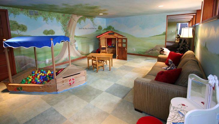 Unique Playroom Design 0111