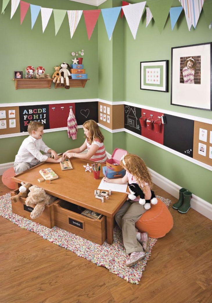Unique Playroom Design 017