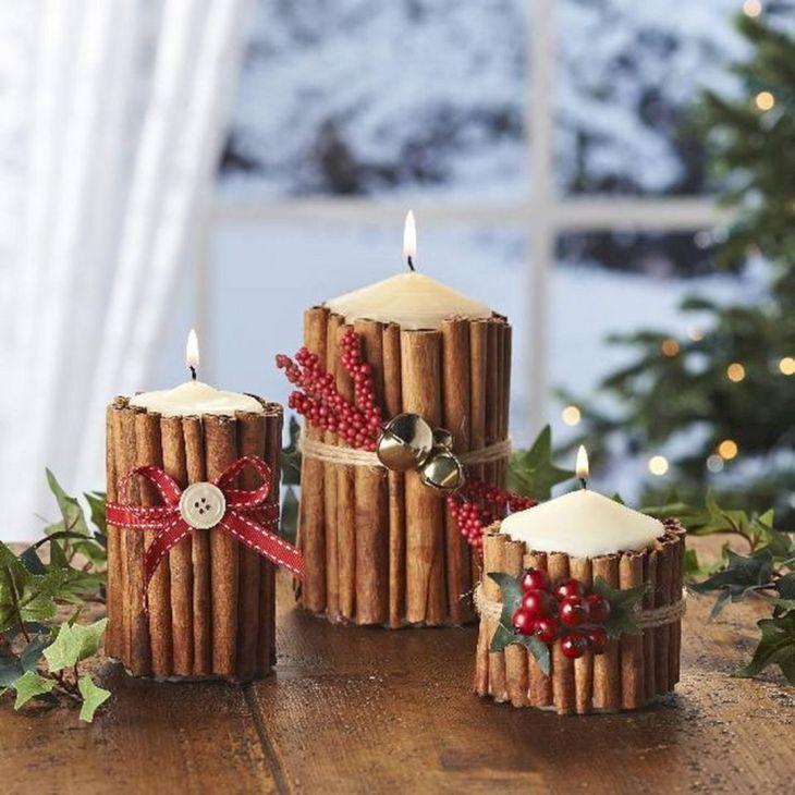 Christmas Candle Decoration 18