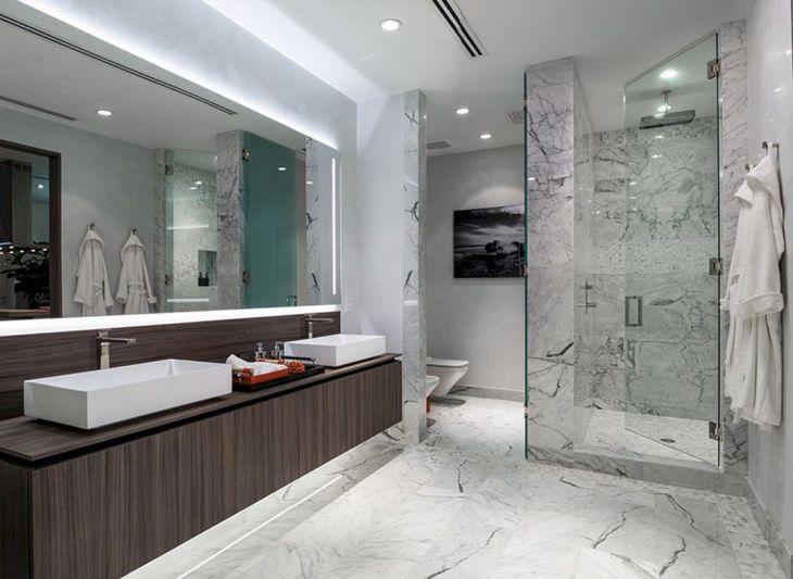 Glass Design of Artistic Bathroom