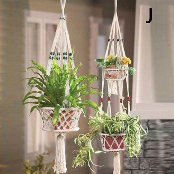 Hanging Pots As Home Garden 2
