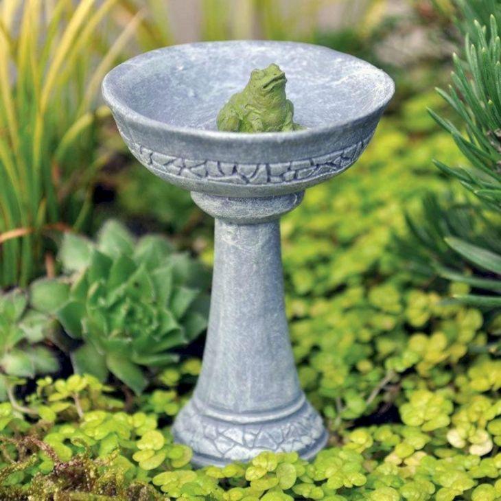 Home Front Garden With Bird Bath 5