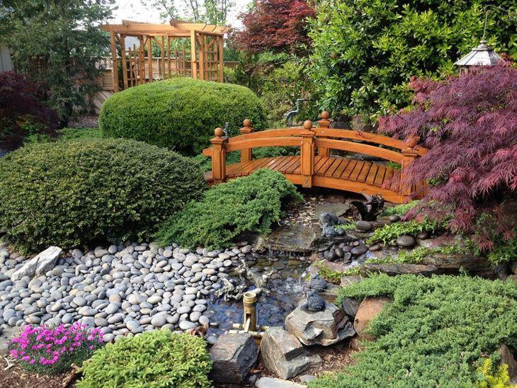 Japanese Style Home Garden 17