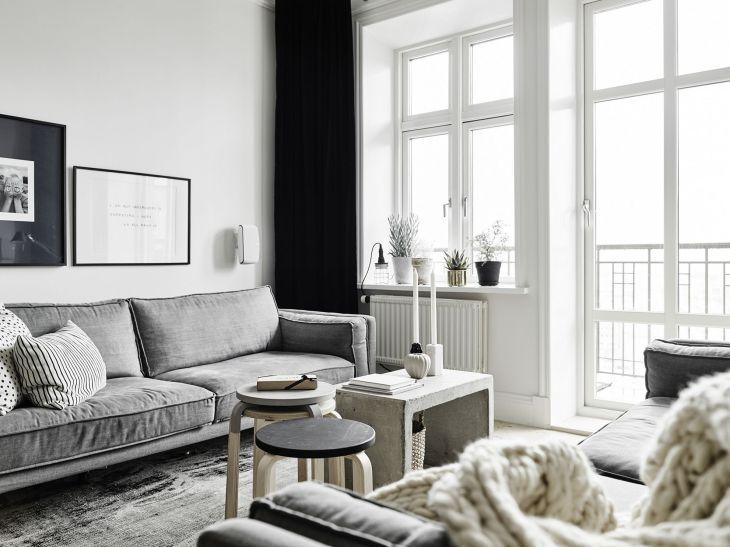 Monochrome Interior Uses Neutral Colors