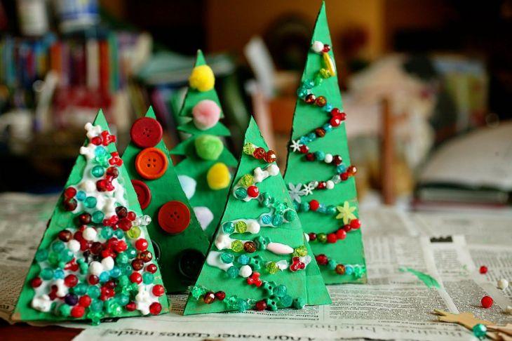 Paper Christmas Tree Ideas