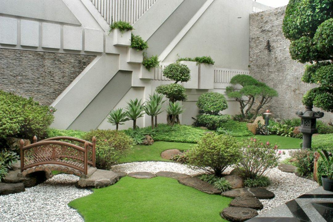 Small Backyard Rock Garden