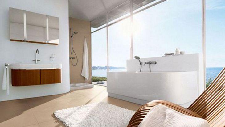Bathroom Semi Open Design 2