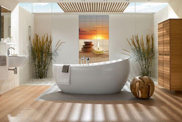 Bathroom Stone and Wood 02