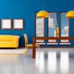 Bright Colored Walls