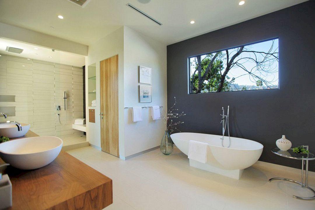 Decorative Wall in the Bathroom Ideas