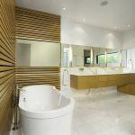 Decorative Wall in the Bathroom Design