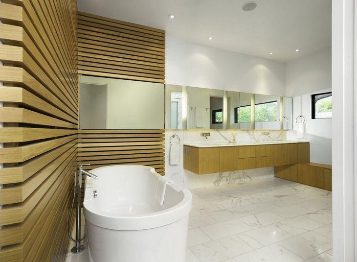 Decorative Wall in the Bathroom 02