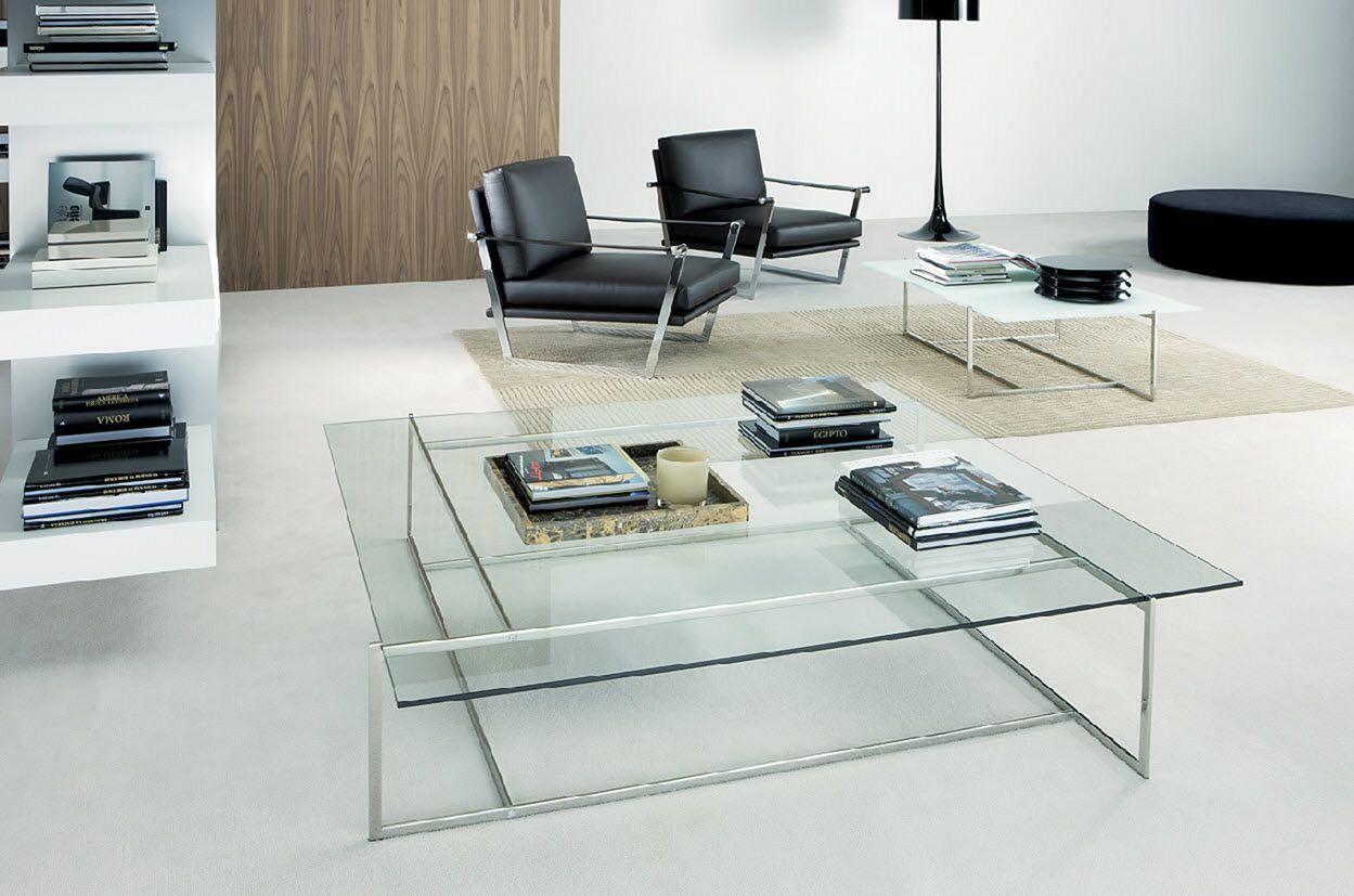 Glass Living Room Table Design
