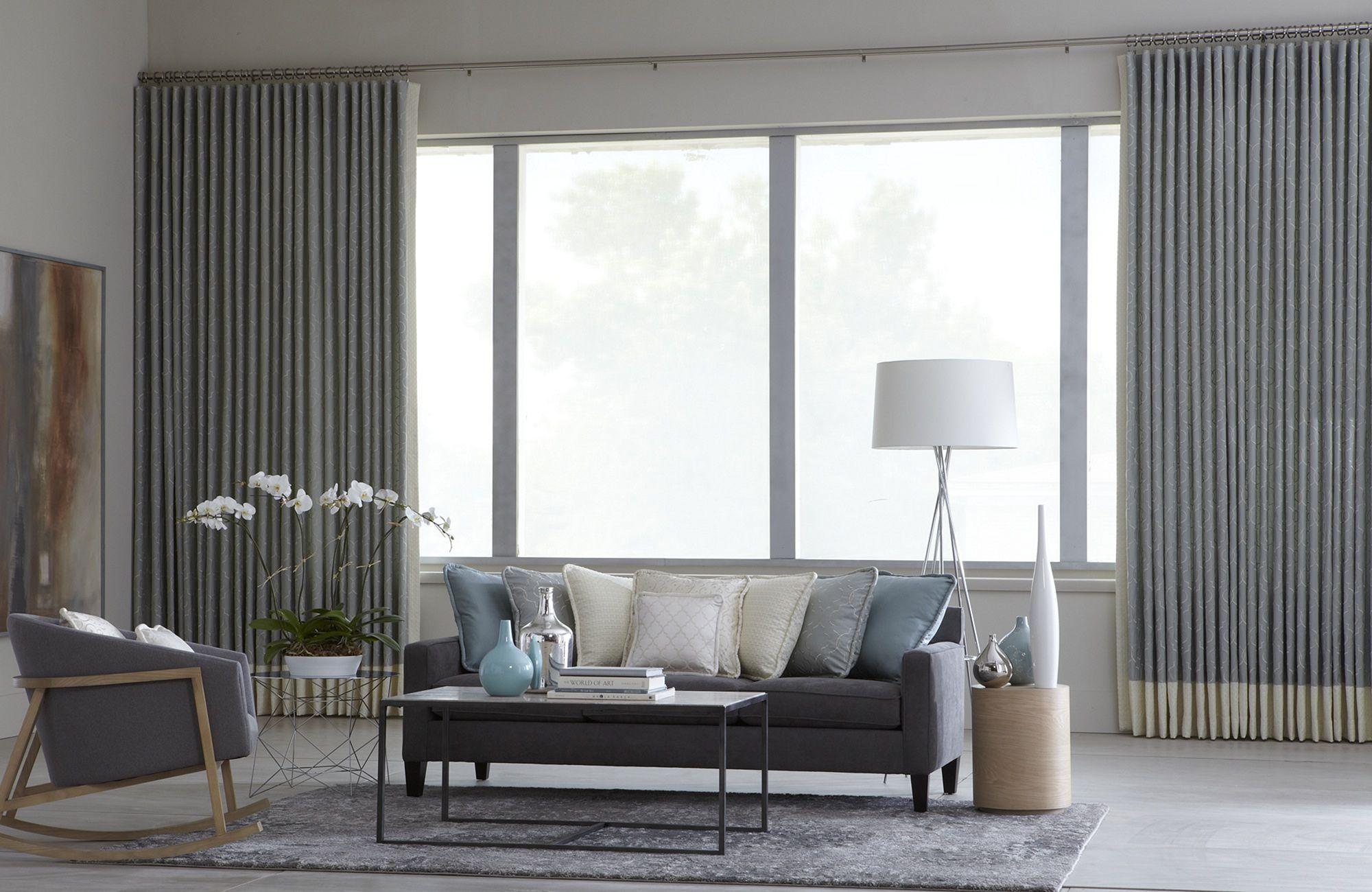 Minimalist Monochrome Curtains