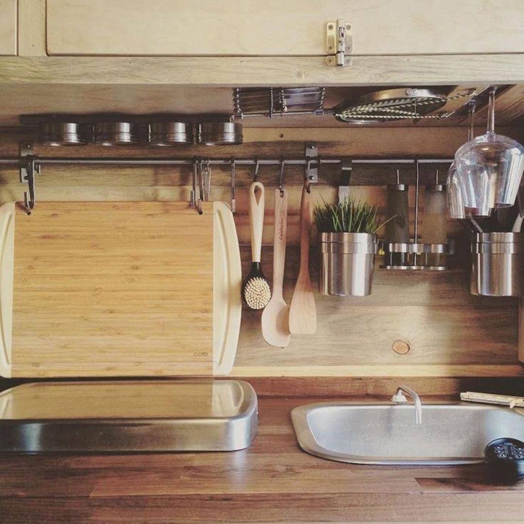 Simple RV Camper Storage Design Ideas