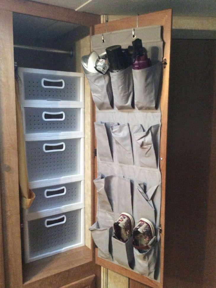 Simple RV Camper Storage Design Source: pistoncars com
