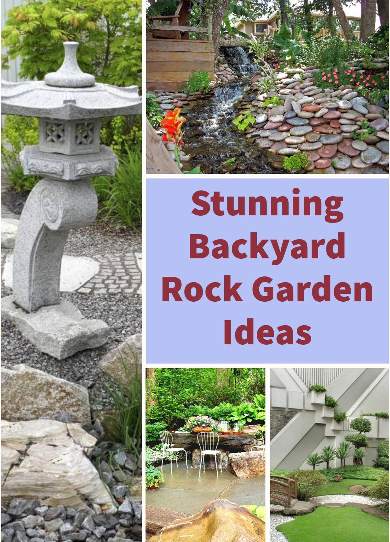 Stunning Backyard Rock Garden Ideas
