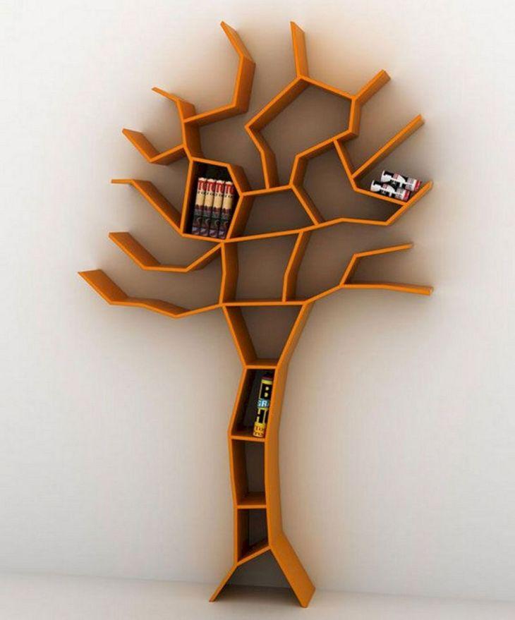 Unique Tree Shape Bookshelf source braha pw