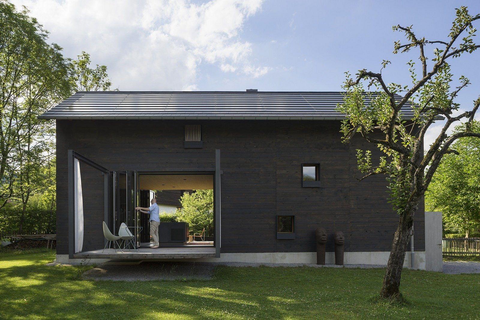 Black Wood Home Design Ideas