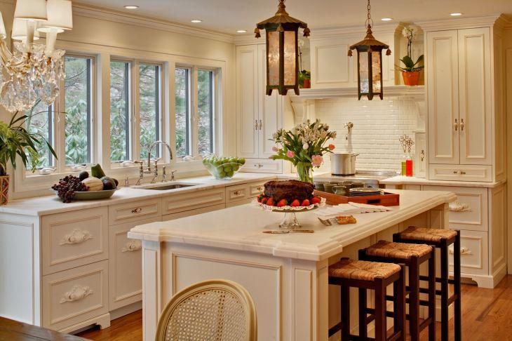 Country Kitchen Island Ideas