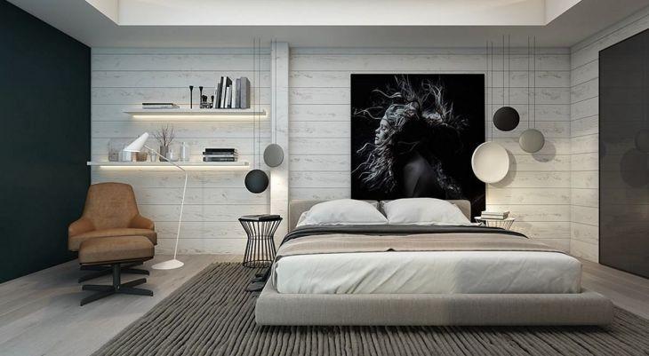 Accent Wall Black Bedroom Ideas
