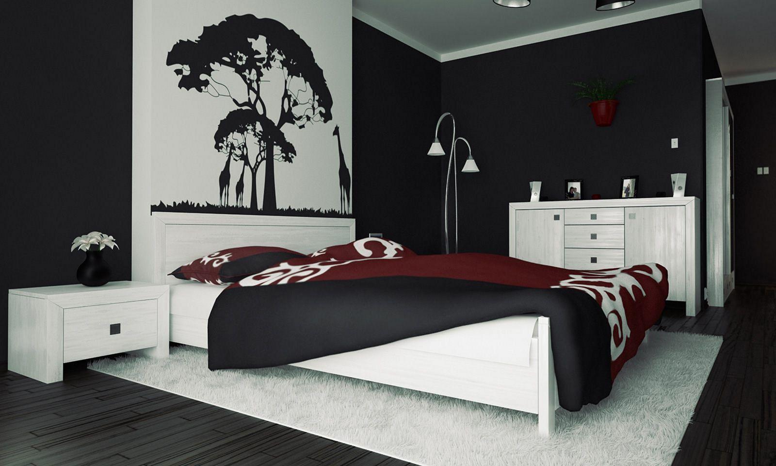 Black Bedroom Decoration Ideas