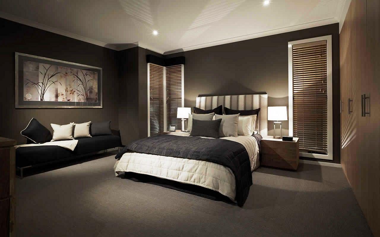 Black Bedroom Wall Ideas