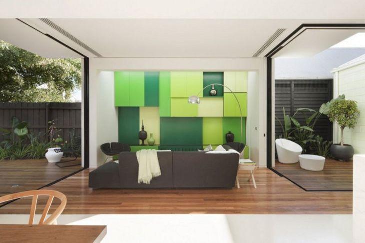 Green Paint Home Interior Design