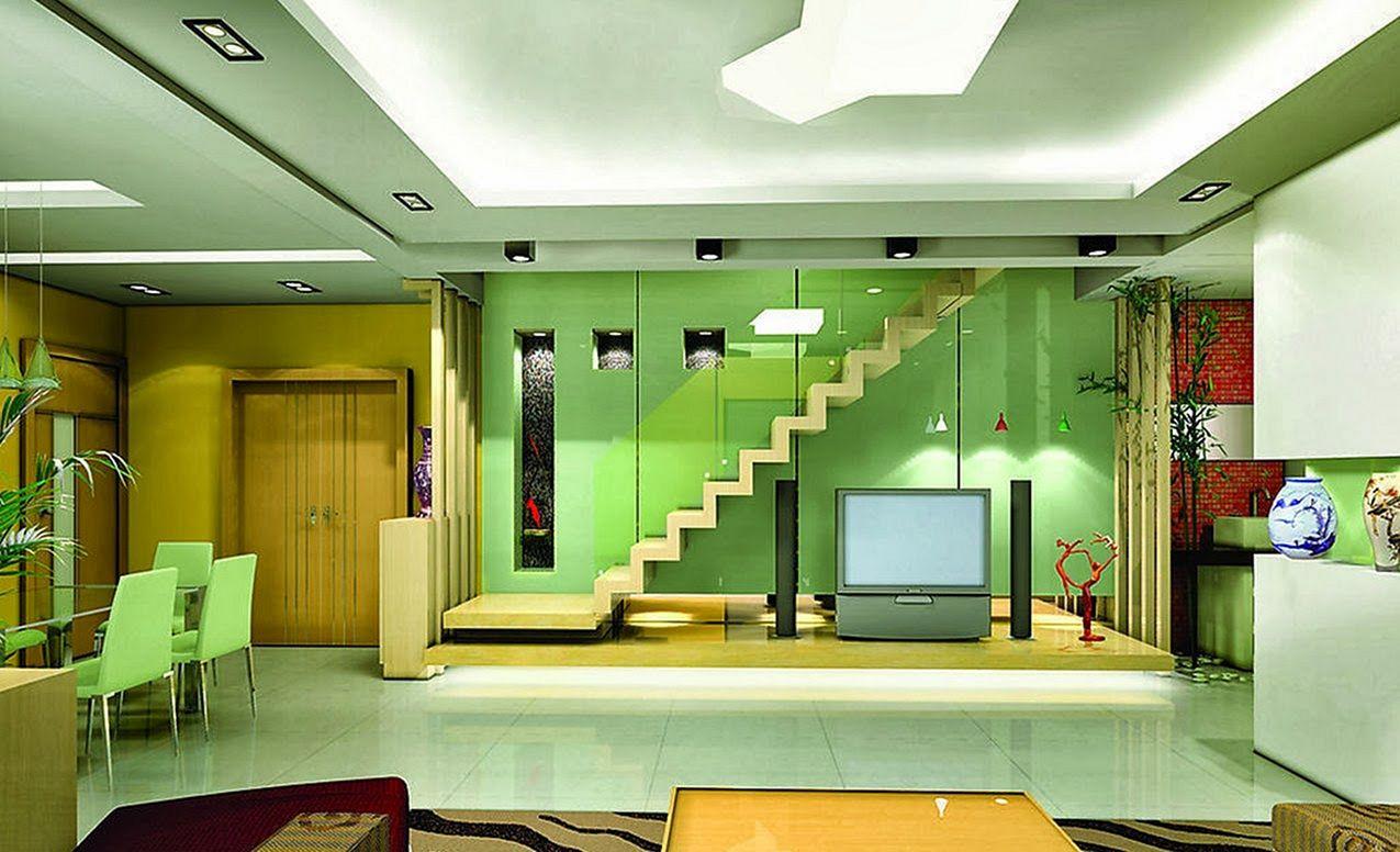 Green Paint Home Interior Ideas