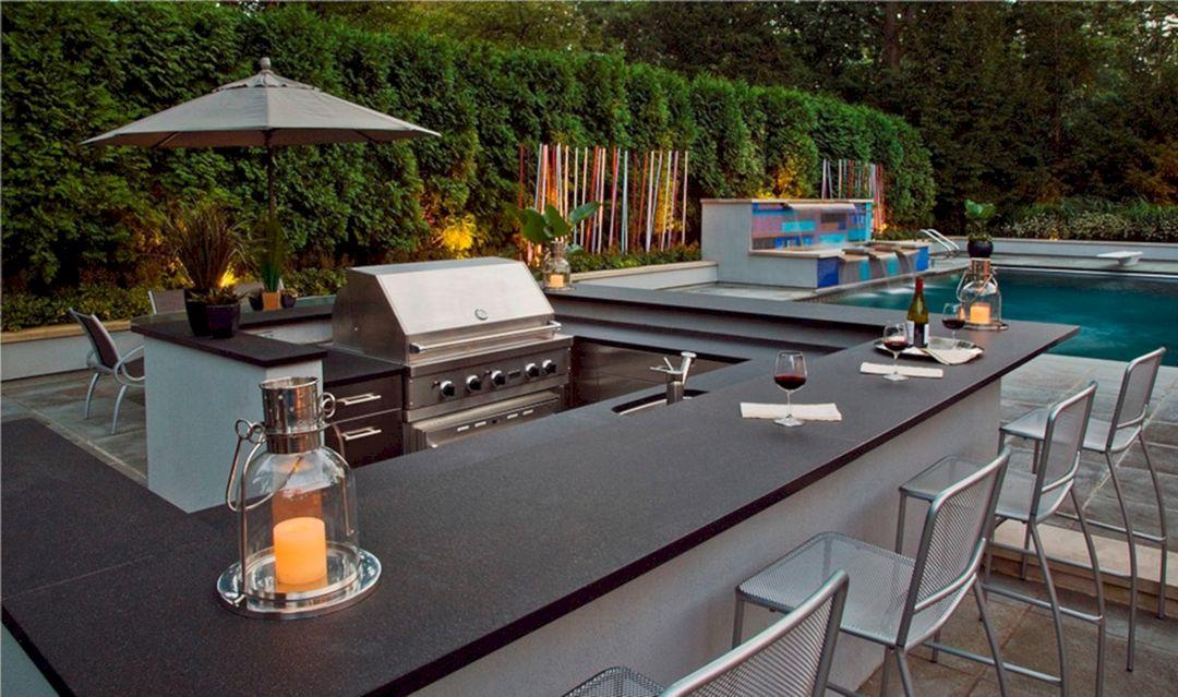 Modern Stylish Outdoor Kitchen