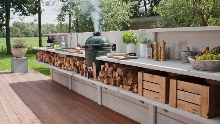 Rustic Outdoor Kitchen Ideas