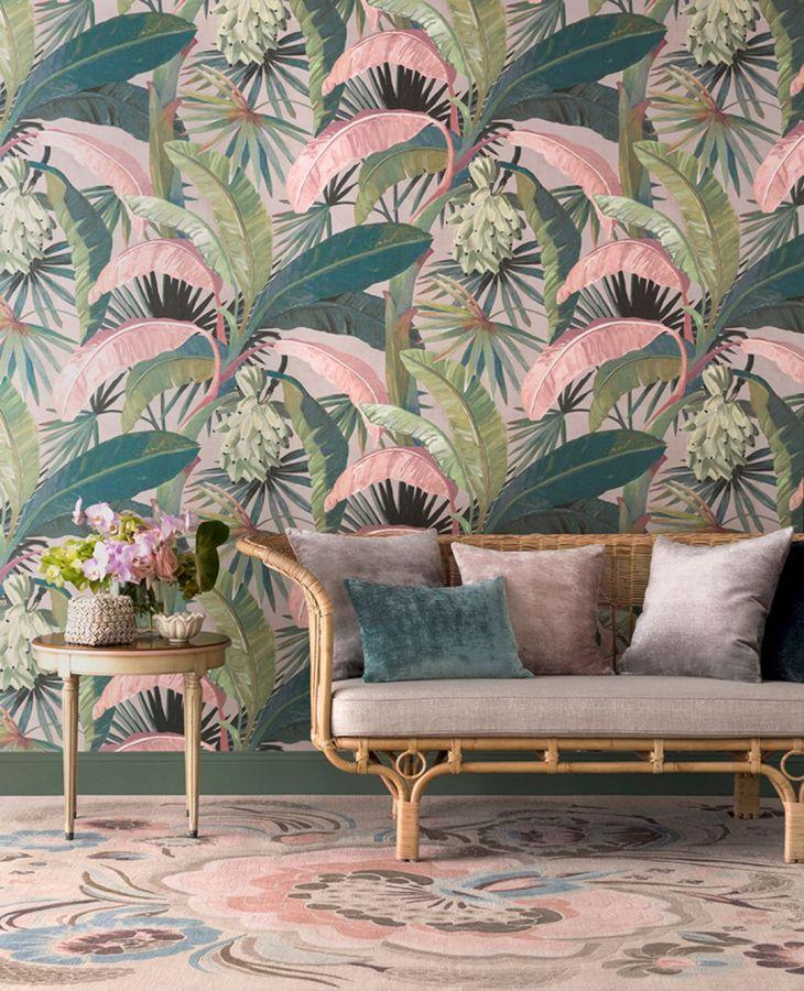 Tropical Calm Wall Design Ideas