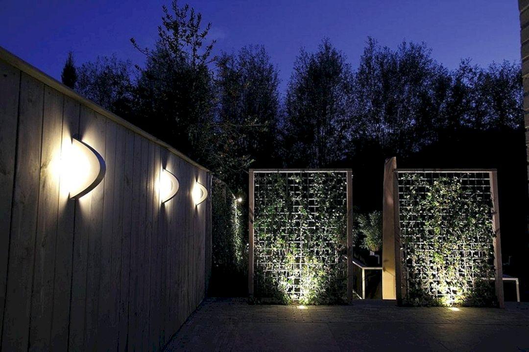 Wall Garden Light Ideas
