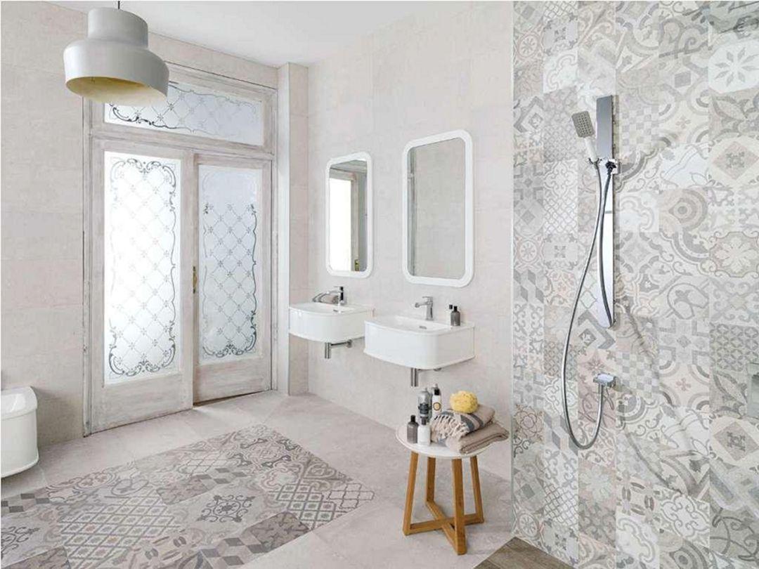Bathroom Wall Ceramic Motif