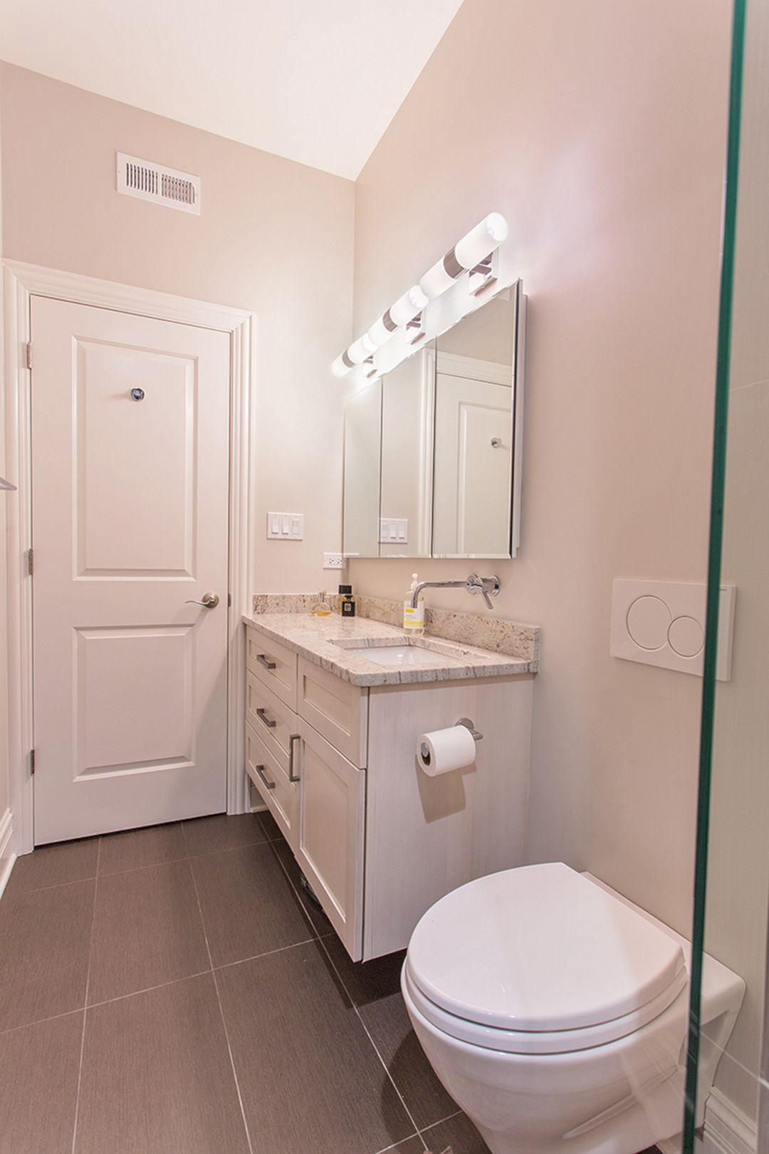 Bathroom With Terracota Color Design