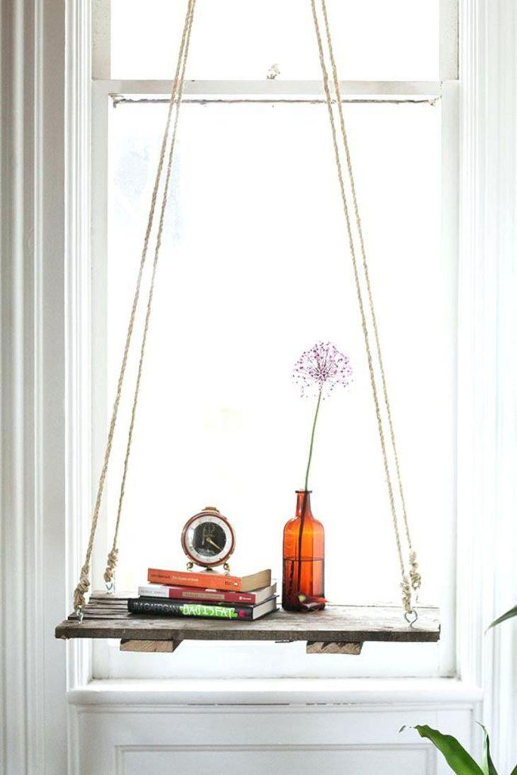 Best DIY Hanging SIde Table