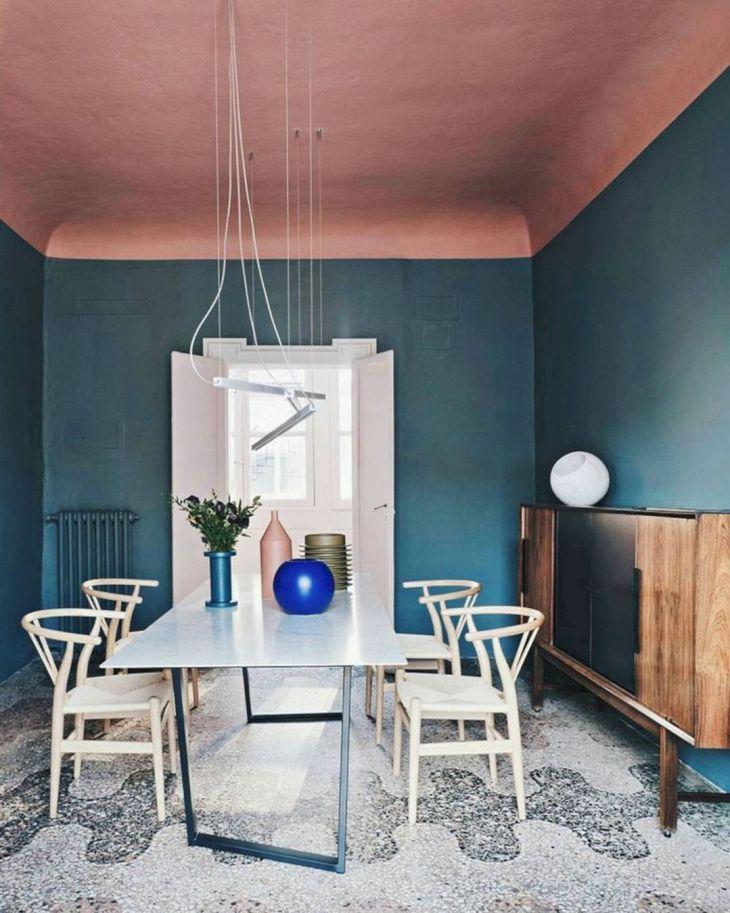 Pastel Color Paint Ceiling Design
